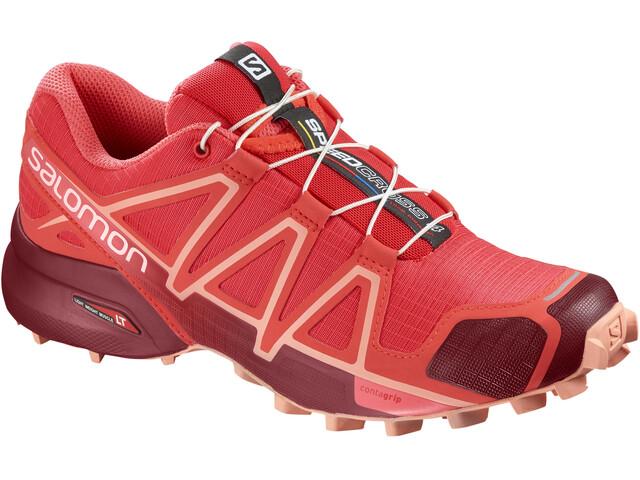 Salomon Speedcross 4 Löparskor Dam röd